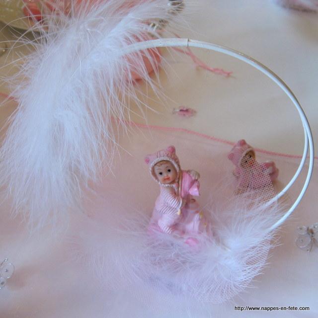 Figurine et sujet originaux pour piece montee ou gateau for Decoration de table pour bapteme fille