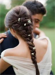 coiffure mariage en toute simplicité