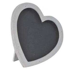 marque place ardoise coeur