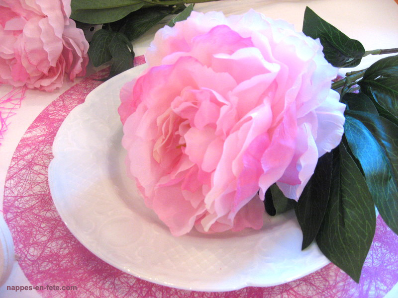 pivoine artificielle