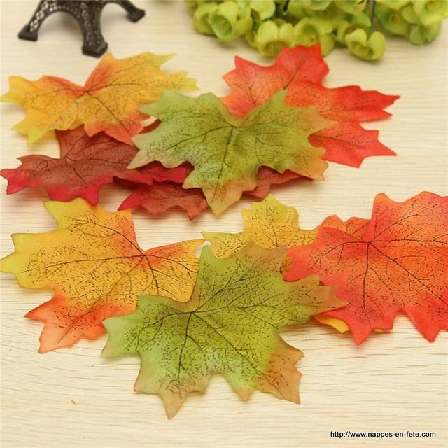 feuilles marque place