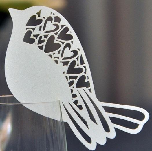 marque place oiseau